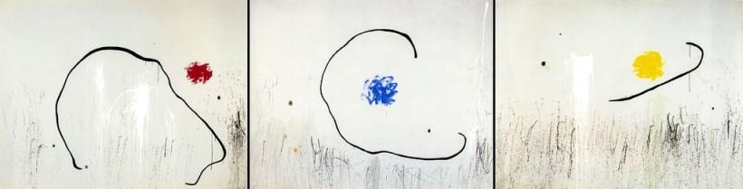 L'esperança del condemnat a mort, tríptic de Joan Miró